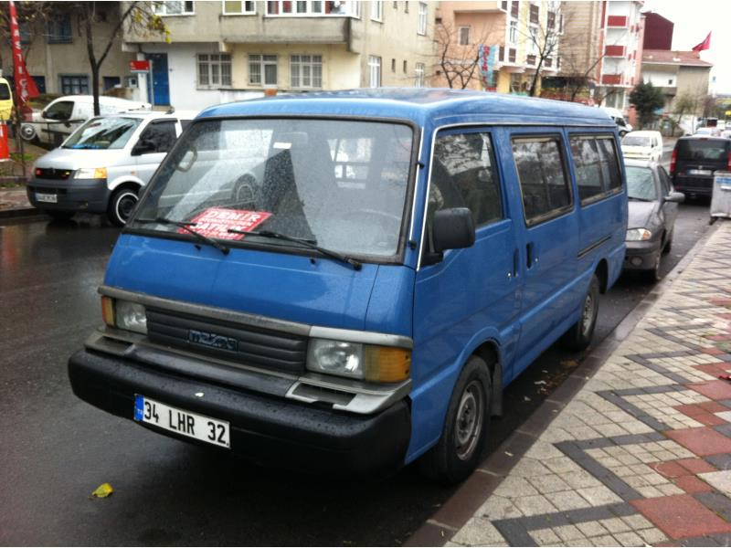 Mazda E 2200 Glass Van HD 1998 Dizel