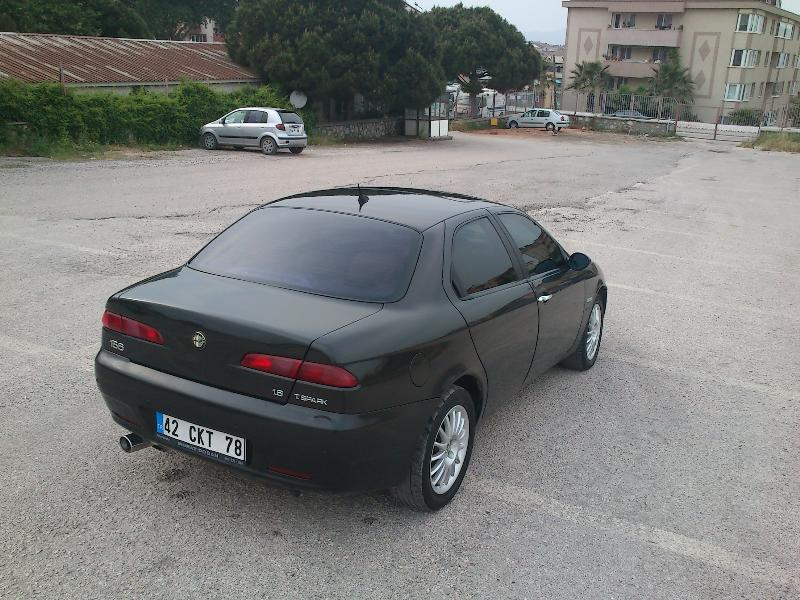 alfa romeo 156 1 6 ts 16v progression 2004 model ikinci el araba. Black Bedroom Furniture Sets. Home Design Ideas